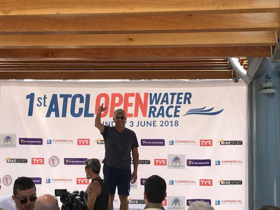 1st ATCL open water race 2018