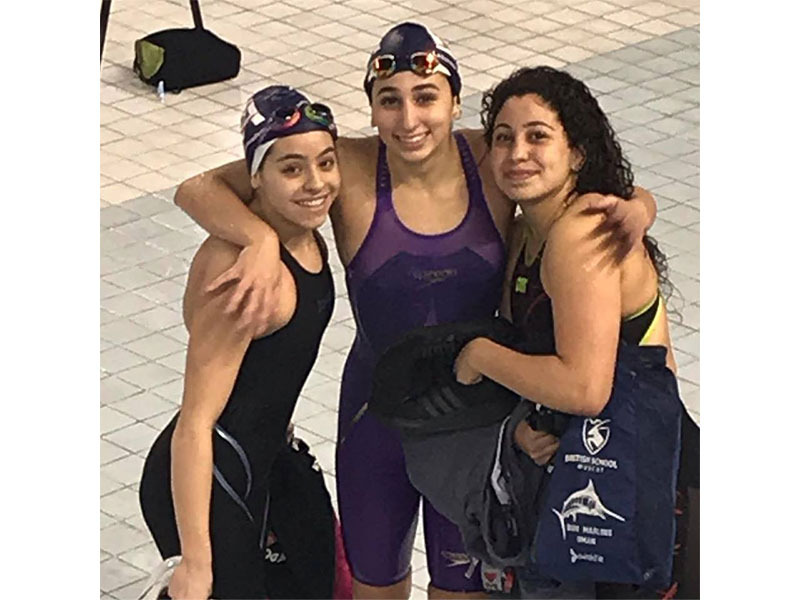 Rebecca Mezher - Hamilton Aquatics Middle East Open & Junior Championships 2019