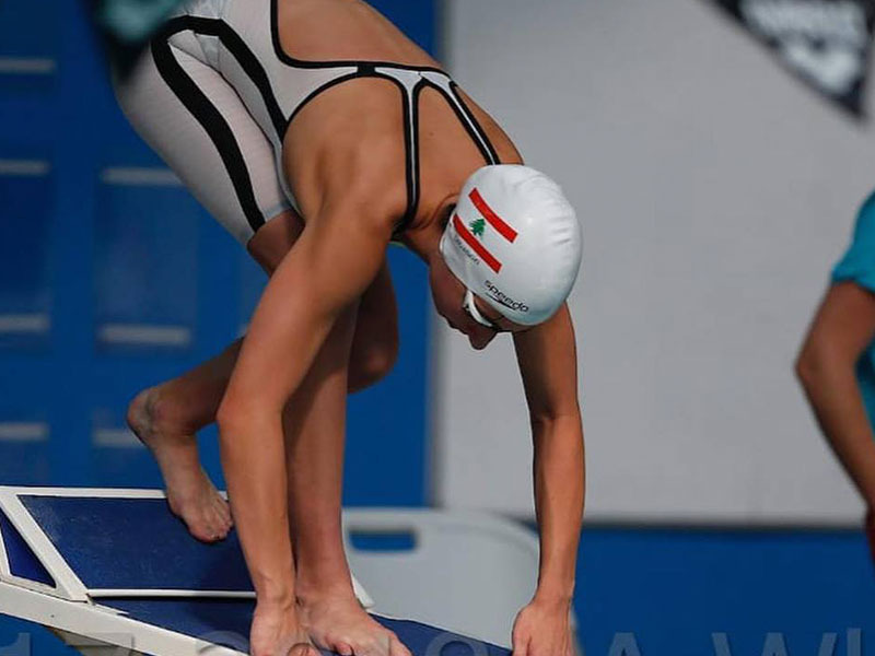 Gabriella Helayel - Hamilton Aquatics Middle East Open & Junior Championships 2019